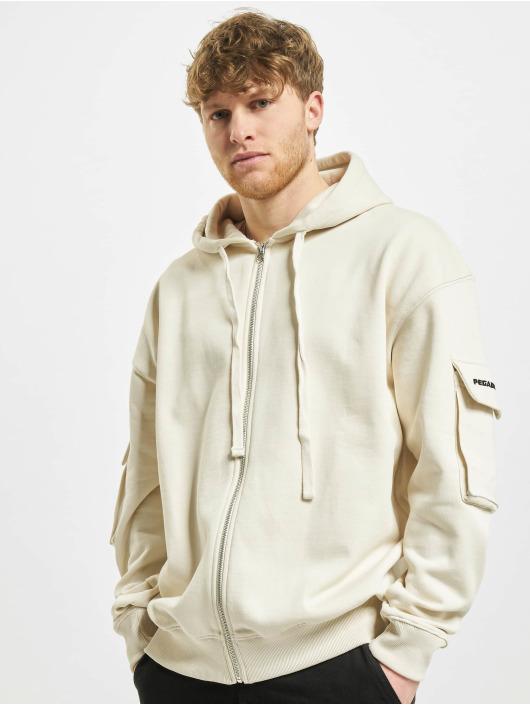 PEGADOR Hoodies con zip Colorado Utility Oversized beige