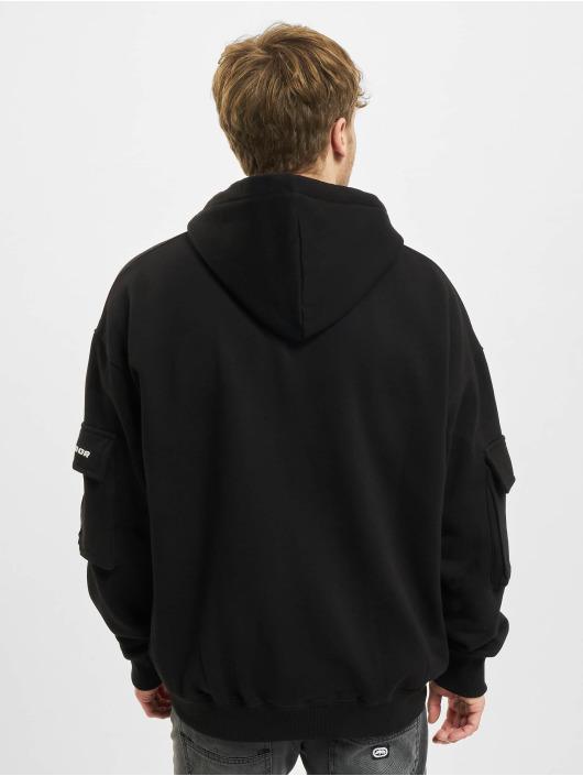 PEGADOR Hoodies con zip Colorado Utility Oversized nero