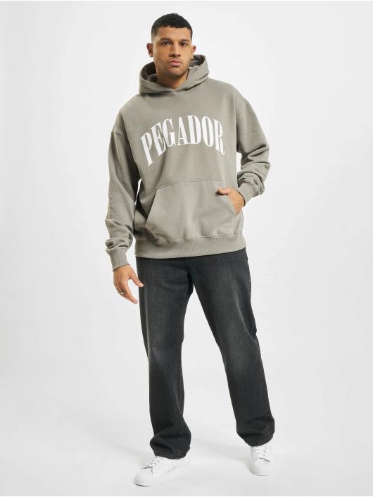 PEGADOR Hoodies Cali Oversized grå