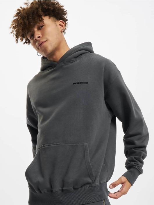 PEGADOR Hoodies Logo Oversized grå