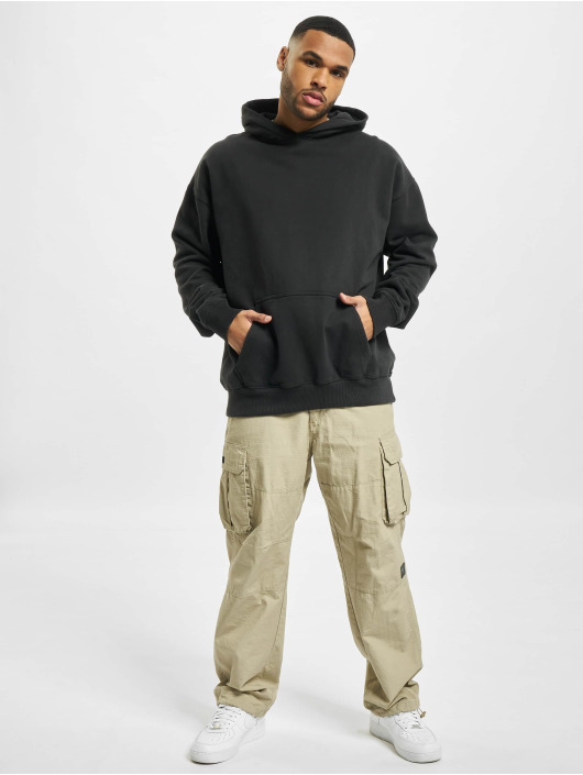 PEGADOR Hoodies Heavy Oversized sort