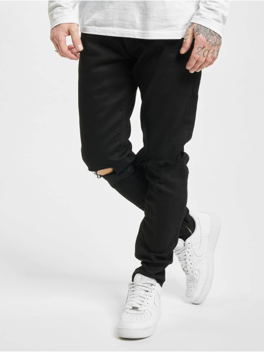 PEGADOR Jeans straight fit Mitu nero