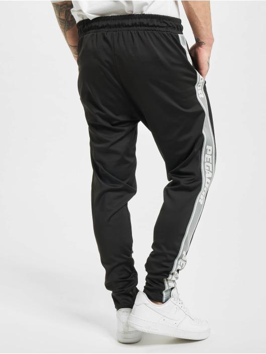 PEGADOR Jogging kalhoty Logo čern