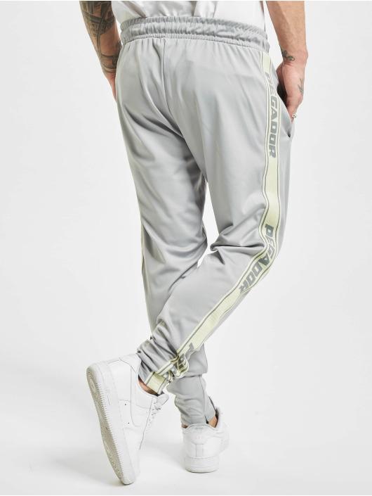 PEGADOR Jogging kalhoty Logo šedá