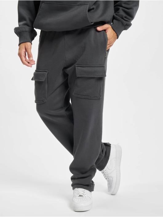 PEGADOR Jogging kalhoty Front Pocket šedá