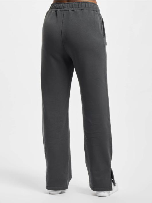 PEGADOR Jogging kalhoty Evie Straight šedá