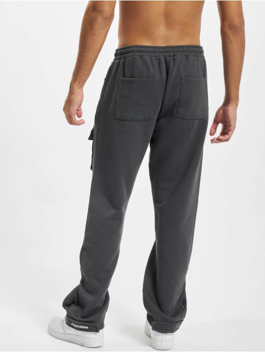 PEGADOR joggingbroek Front Pocket grijs