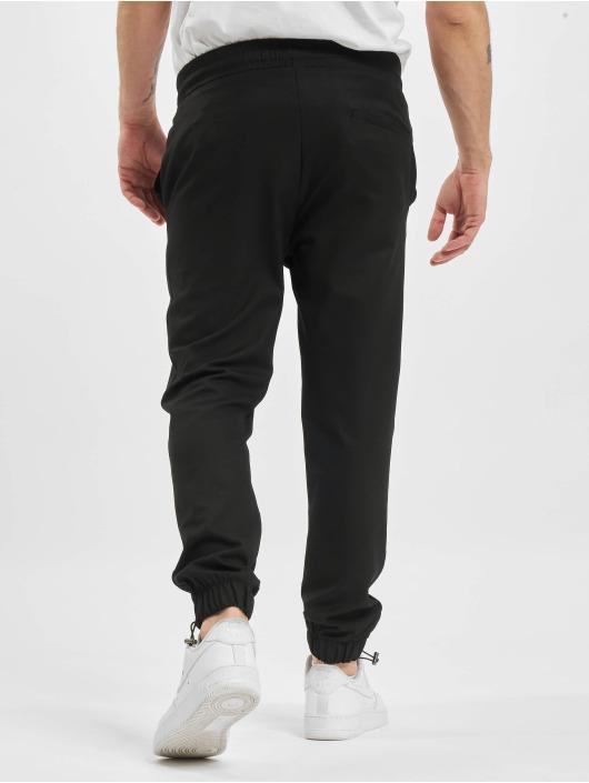 PEGADOR joggingbroek Palma Rubber zwart