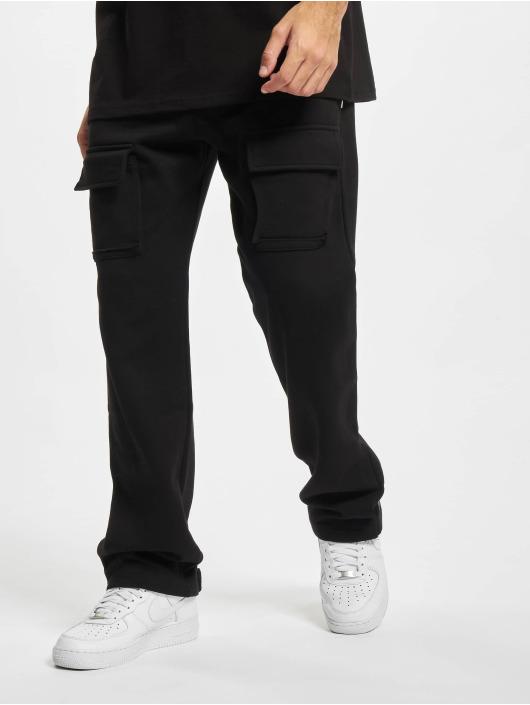 PEGADOR joggingbroek Front Pocket zwart
