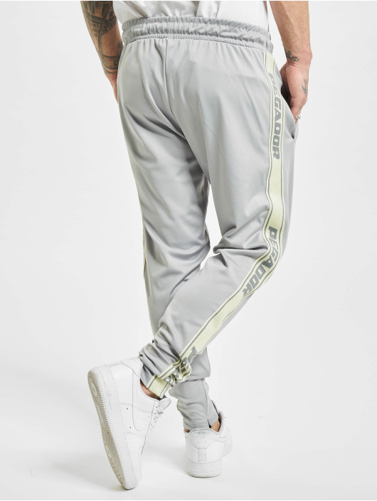 PEGADOR Joggingbukser Logo grå