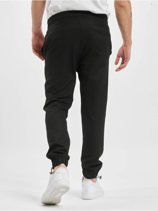 PEGADOR Joggingbyxor Palma Rubber svart