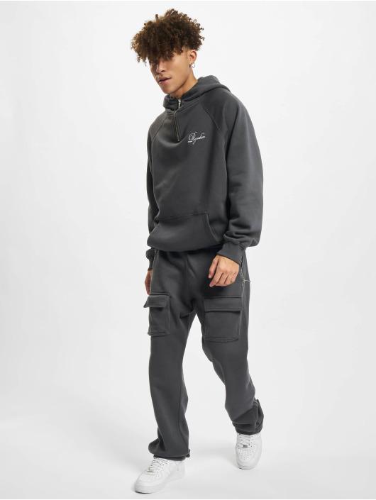 PEGADOR Jogginghose Front Pocket grau