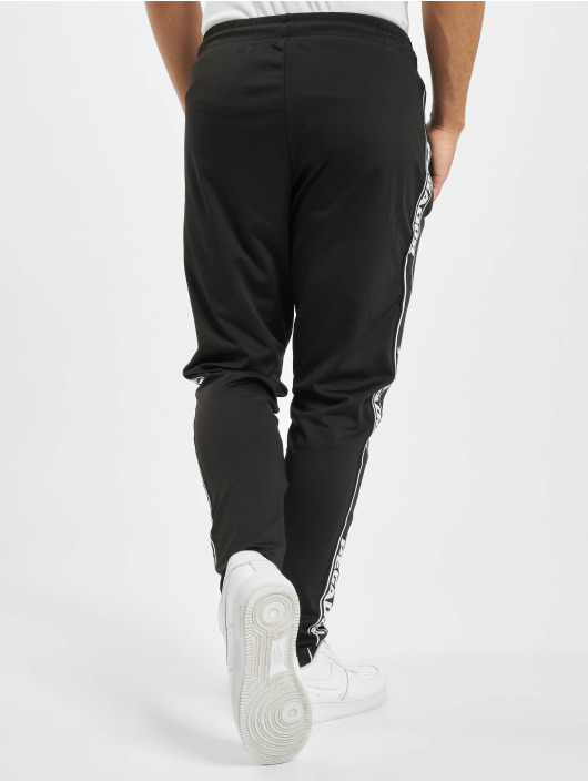 PEGADOR Jogginghose Logo schwarz