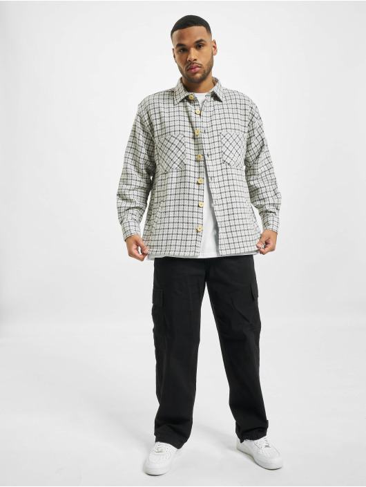 PEGADOR Košele Flato Heavy Flannel šedá