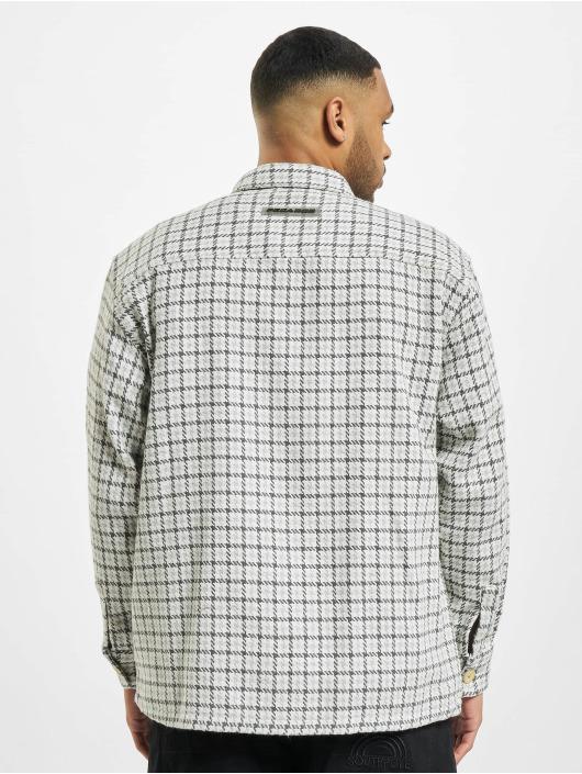 PEGADOR Košile Flato Heavy Flannel šedá
