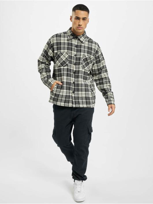 PEGADOR Koszule Flato Heavy Flannel bialy