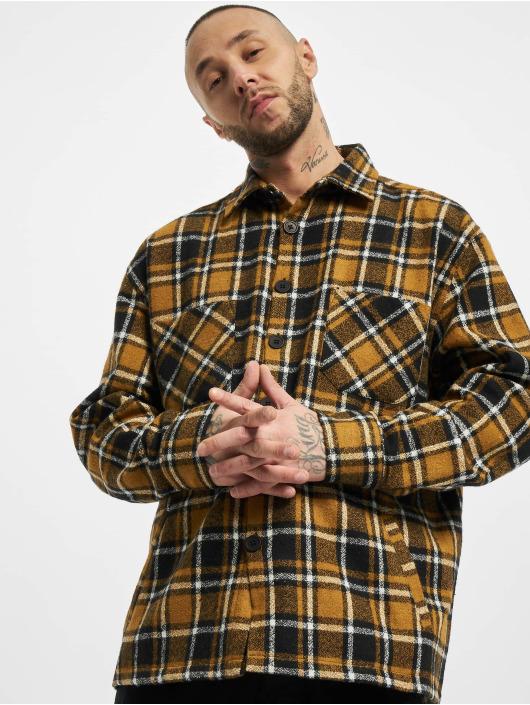 PEGADOR Koszule Flato Heavy brazowy