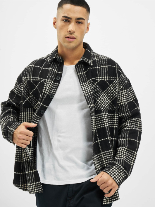 PEGADOR Koszule Sydney Round Heavy Flannel czarny