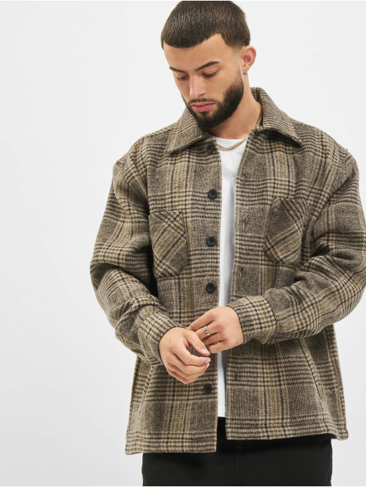 PEGADOR Lightweight Jacket Funo Heavy Flannel beige