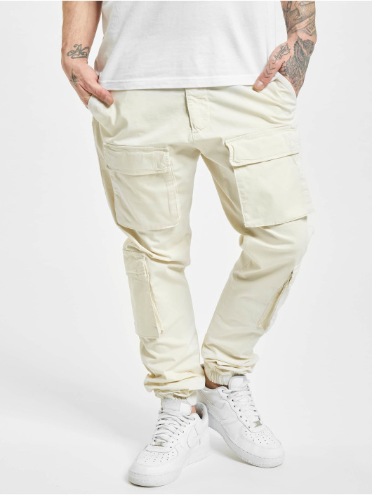 PEGADOR Pantalon cargo Lyon blanc