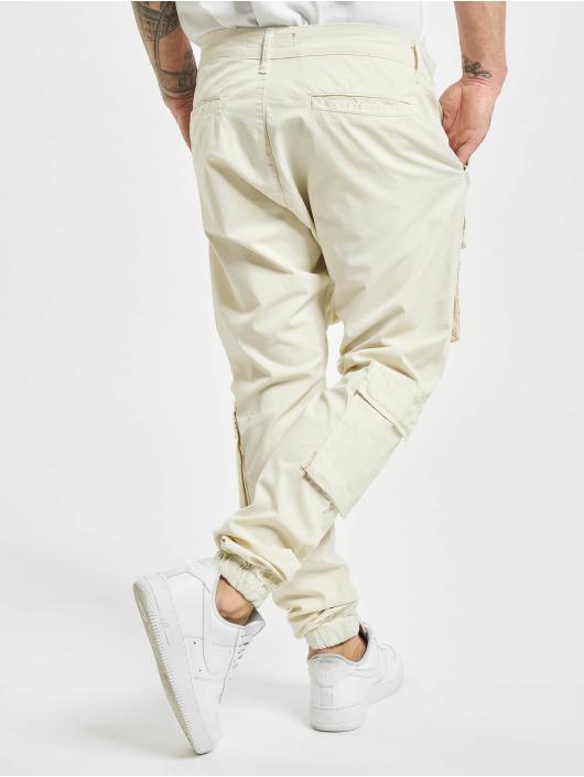 PEGADOR Pantalone Cargo Lyon bianco