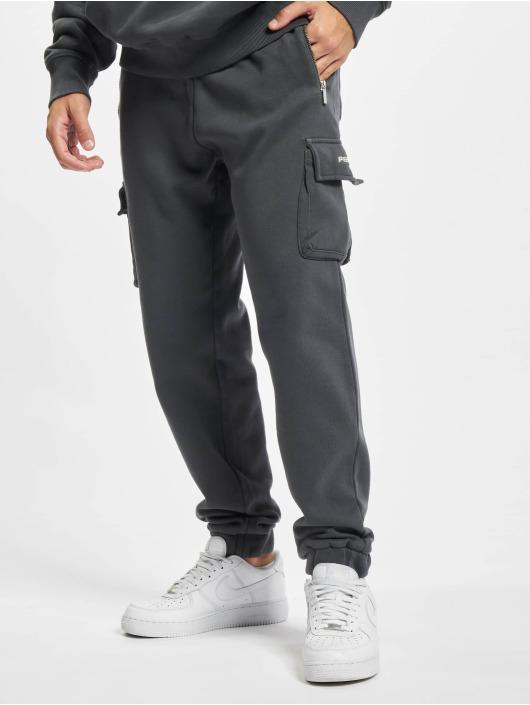 PEGADOR Pantalone Cargo Heavy grigio