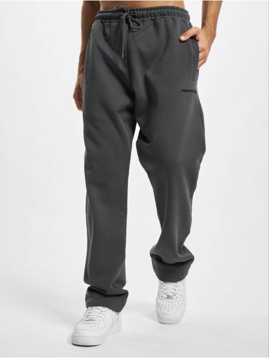 PEGADOR Pantalone ginnico Logo Wide grigio