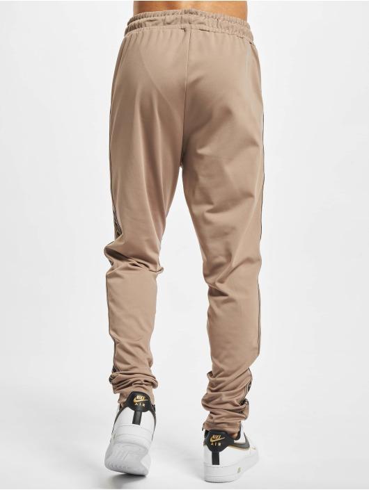 PEGADOR Pantalone ginnico Logo marrone