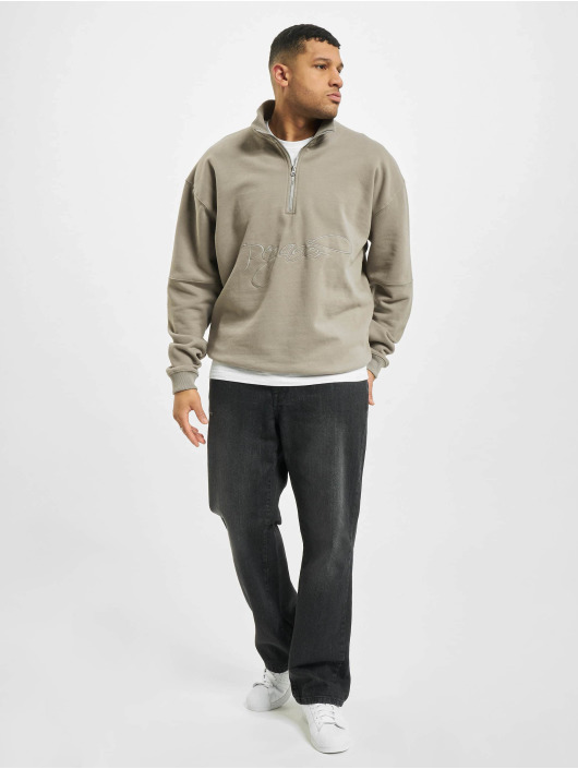 PEGADOR Pullover Arizona Halfzip Oversized gray