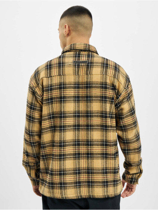 PEGADOR Shirt Flato Heavy Flannel beige