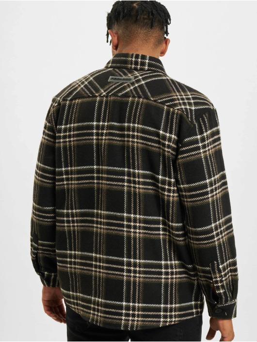 PEGADOR Shirt Delta Heavy Flannel blue