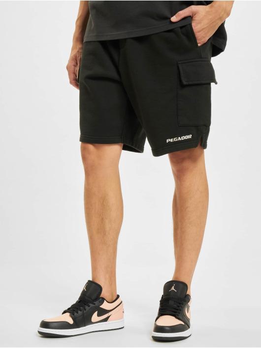 PEGADOR Shorts Heavy Cargo svart