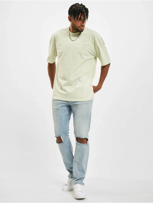 PEGADOR Skinny Jeans Purral Distressed Ankle blue
