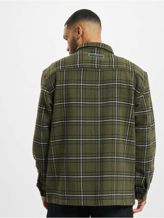 PEGADOR Skjorta Flato Heavy Flannel grön