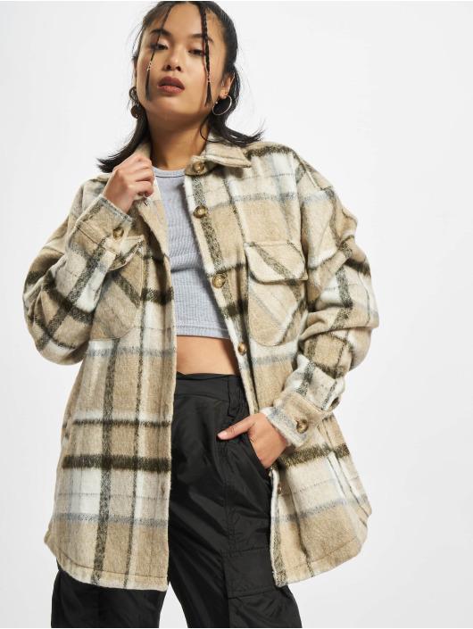 PEGADOR Skjorte Goleta Heavy Hairy Flannel brun