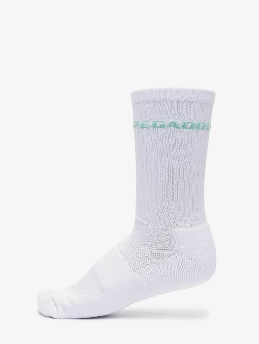 PEGADOR Socken Logo grün