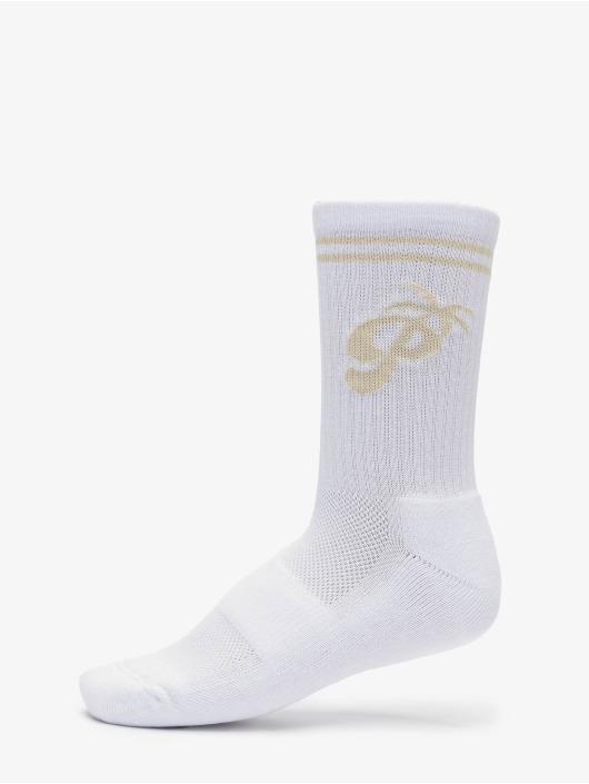 PEGADOR Socks Matanzas white