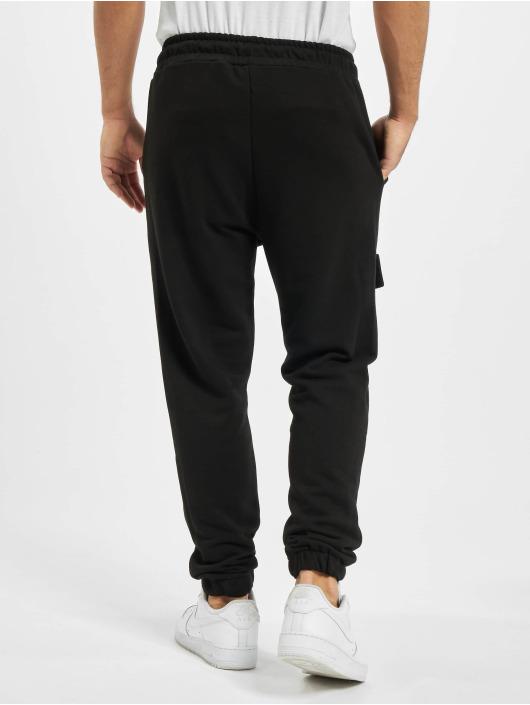 PEGADOR Spodnie Chino/Cargo Berno Front Pocket czarny