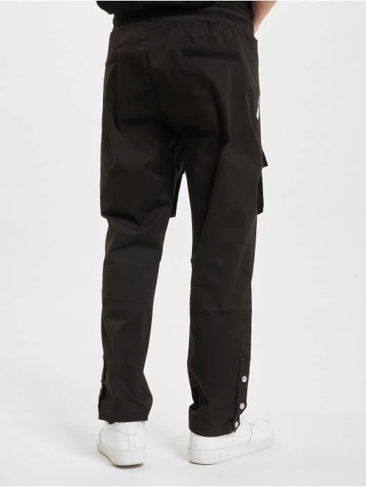PEGADOR Spodnie Chino/Cargo Punch Front Pocket czarny