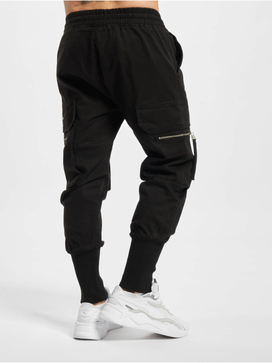 PEGADOR Spodnie Chino/Cargo Ken czarny