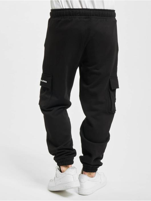 PEGADOR Spodnie do joggingu Idaho Heavy Utility czarny
