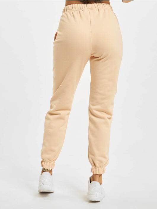 PEGADOR Spodnie do joggingu Grace High Waisted pomaranczowy