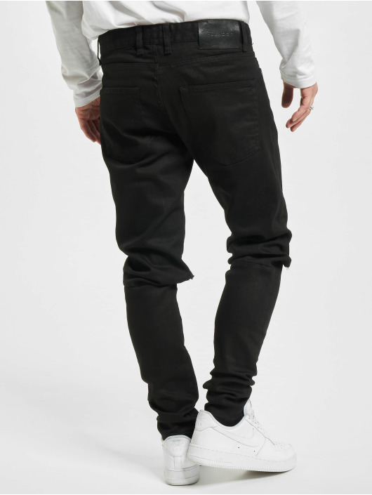 PEGADOR Straight Fit Jeans Mitu čern