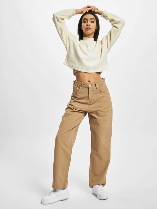 PEGADOR Straight Fit Jeans Palmdale Wide hnědý