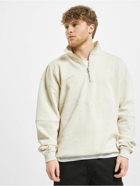 PEGADOR Sweat & Pull Arizona Halfzip blanc