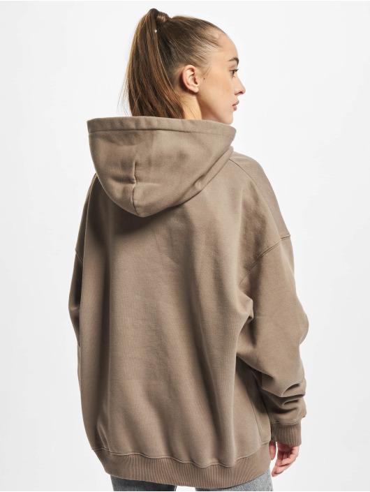 PEGADOR Sweat capuche Marino Oversized brun