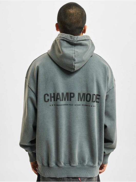 PEGADOR Sweat capuche Mike Oversized Vintage gris