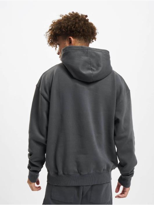 PEGADOR Sweat capuche Logo Oversized gris