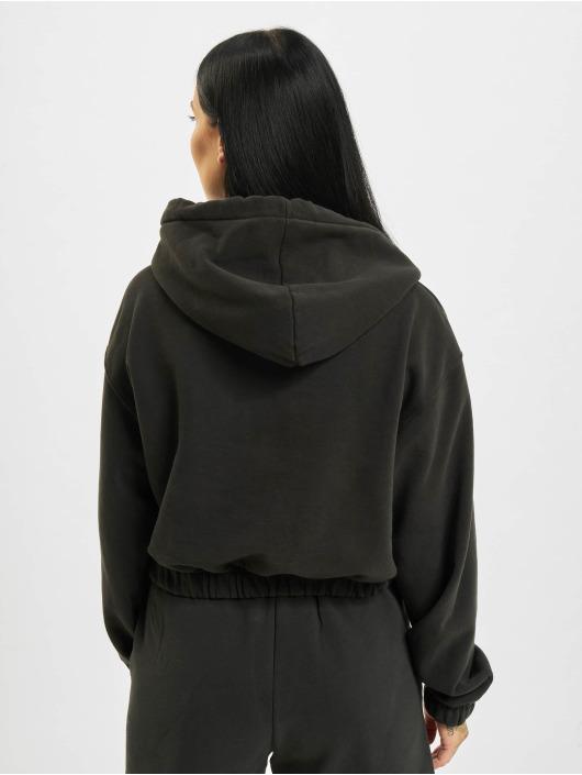 PEGADOR Sweat capuche Nicki Oversized Cropped noir