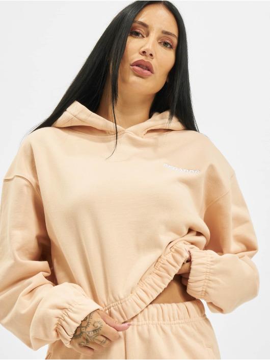 PEGADOR Sweat capuche Kim Oversized orange